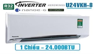 Panasonic CU/CS-U24VKH-8 Inverter 2.5Hp Gas R32 (2019)